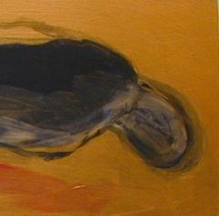 DEADALUS 1     ACRYL OP PANEEL, 15×42 CM