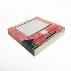 ARTIST BOOK Nieuwe Steenweg   DIGITALE PRINT OP KARTON, 13×13 CM, 16 PAGINAS