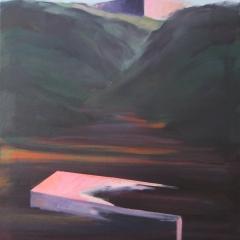 105 olie op canvas / 55x70 cm