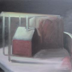 olie op canvas, 80x110 cm