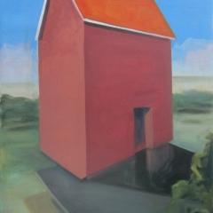 olie op canvas, 70x100 cm