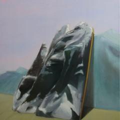 zonder titel / olie op  canvas / 120x150 cm