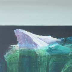 iceberg 2 acryl op paneel 40x40 cm