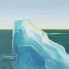 iceberg 4 acryl op paneel 40x40 cm