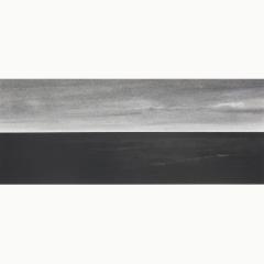 utopia VII, houtskool en syberisch krijt op papier, 40x40 cm