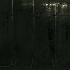 Cityscape_1 / digitale print en houtskool op papier / 21x 30 cm