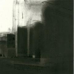 Cityscape_10/ digitale print en houtskool op papier / 21x 30 cm
