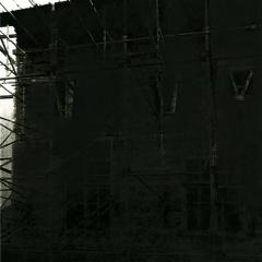 Cityscape_17/ digitale print en houtskool op papier / 21x 30 cm