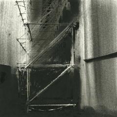 Cityscape_21/ digitale print en houtskool op papier / 21x 30 cm