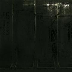 Cityscape_23/ digitale print en houtskool op papier / 21x 30 cm