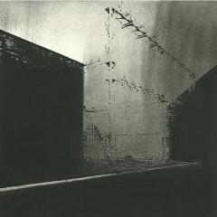 Cityscape_3/ digitale print en houtskool op papier / 21x 30 cm