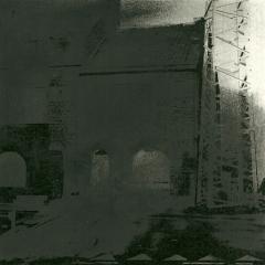 Cityscape_8/ digitale print en houtskool op papier / 21x 30 cm