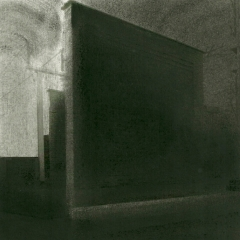 Cityscape_9/ digitale print en houtskool op papier / 21x 30 cm
