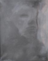 ONBEKENDE 3     ACRYL OP DOEK, 40×50 CM