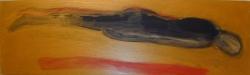 DEADALUS 3     ACRYL OP PANEEL, 15×42 CM