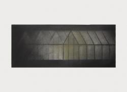 SERRE     HOUTSKOOL EN SIBERISCH KRIJT OP PAPIER, 21×29 CM