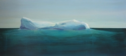 iceberg 1 acryl op paneel 28x61 cm