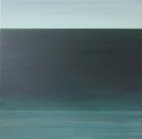 sea 3 acryl op paneel 40x40 cm
